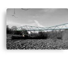 Bottom of the bridge Canvas Print