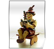 Pinocchio. Tribute to BONITA. Poster