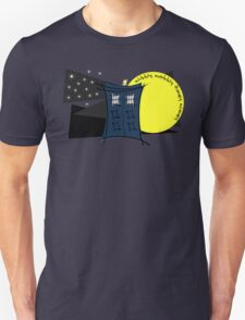 Abstract Tardis 5 Unisex T-Shirt