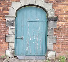 old door in the wall by Gins412