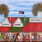 """Australia Day in the outback"" SOLD 24/02/2013  by EJCairns"