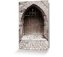 Enter if you dare..... Greeting Card