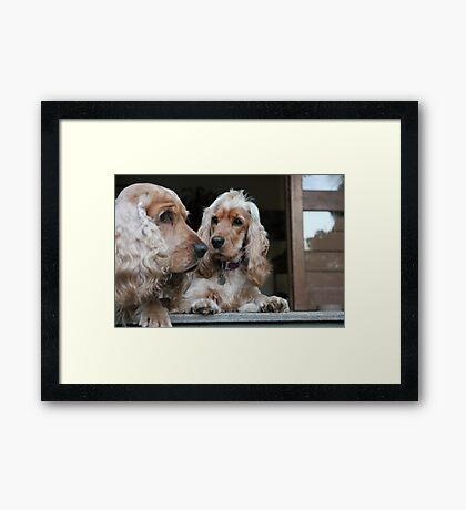 """""""That's My Dad!"""" Framed Print"""