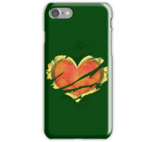 Heart Container tearing through shirt iPhone Case/Skin