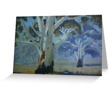 Gum trees Greeting Card