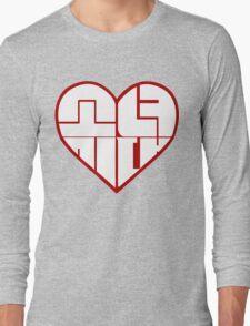 SNSD: Heart Emblem Long Sleeve T-Shirt