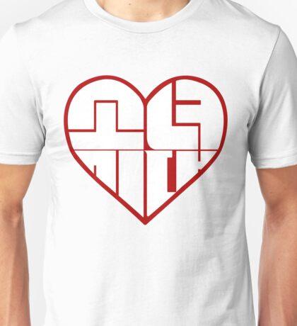 SNSD: Heart Emblem Unisex T-Shirt