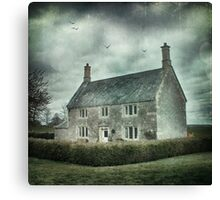 A very nice house in the country Canvas Print