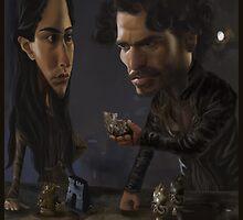Robb and Talisa (Mild Spoiler Alert) by JenSnow