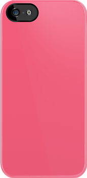 Brink Pink Fabric Print Iphone Case by Detnecs2013