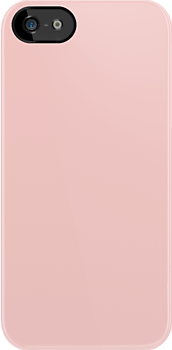 Pale Pink Fabric Print Iphone Case by Detnecs2013