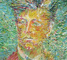 ARTHUR RIMBAUD oil portrait by lautir