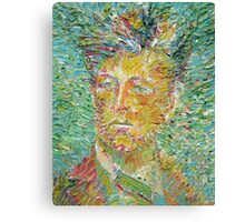 ARTHUR RIMBAUD oil portrait Canvas Print