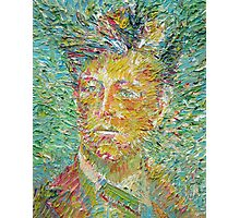 ARTHUR RIMBAUD oil portrait Photographic Print