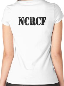 NCRCF Women's Fitted Scoop T-Shirt