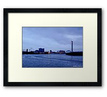 Clyde in the Evening Framed Print