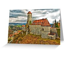 Veldenstein Castle, Bavaria, Germany. Greeting Card