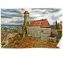 Veldenstein Castle, Bavaria, Germany. Poster