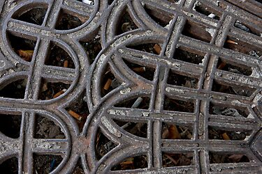 Street Grate by phil decocco