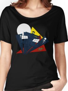 Abstract Tardis 4 Women's Relaxed Fit T-Shirt