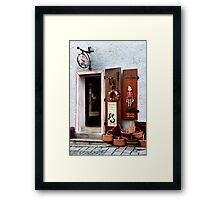 Shop Of Toys Framed Print