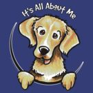 Golden Retriever :: Its All About Me by offleashart