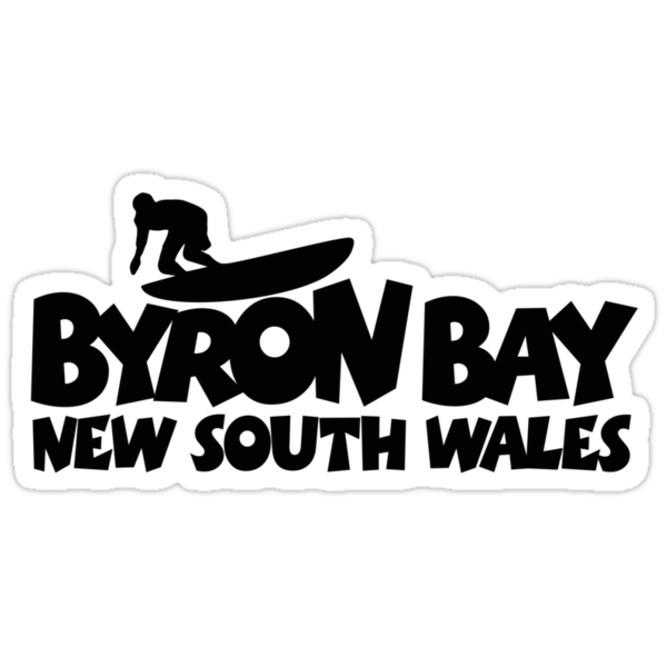 Byron Bay Surfing by theshirtshops
