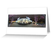 Park panorama, Riga, Latvia Greeting Card