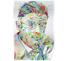 JAMES JOYCE portrait.1 Poster