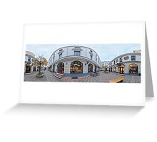 BERGS BAZAAR PANORAMA , RIGA, LATVIA Greeting Card