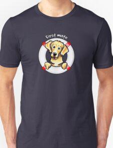 Golden Retriever :: First Mate T-Shirt