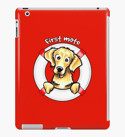 Golden Retriever :: First Mate iPad Case/Skin
