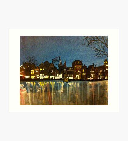 Amsterdam 2013 Art Print