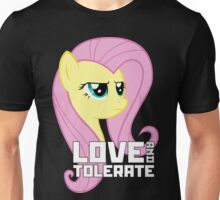 Fluttershy - Love And Tolerance Unisex T-Shirt