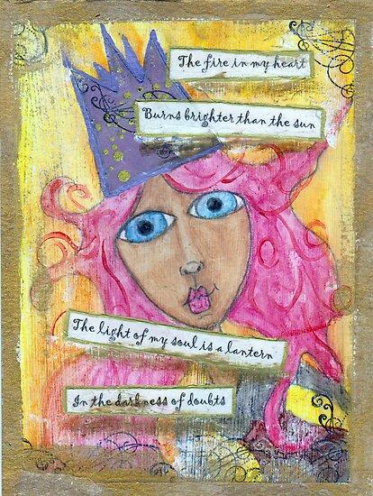 Queen, Starter of Fires by DelisaCarnegie