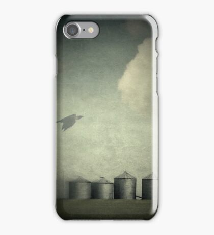 Silos of the Praires iPhone Case/Skin