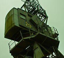 Dockside crane by Ed Hemming
