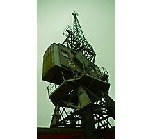 Dockside crane Photographic Print