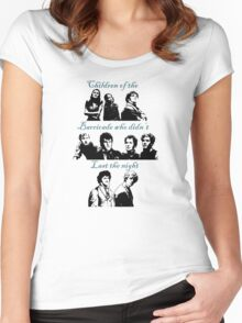 Children of the Barricade Women's Fitted Scoop T-Shirt