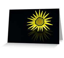 Gazania Sunshine Greeting Card
