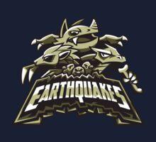 Ground Team - Earthquakes One Piece - Short Sleeve