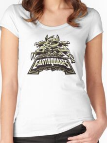 Ground Team - Earthquakes Women's Fitted Scoop T-Shirt