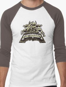 Ground Team - Earthquakes Men's Baseball ¾ T-Shirt