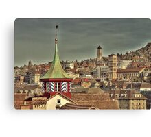 Zurich Canvas Print
