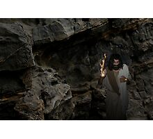 Jesus - I am the Resurrection and the Life Photographic Print