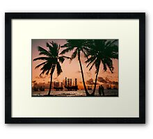 Campaign Memories: Off Shore Drill Romance Framed Print