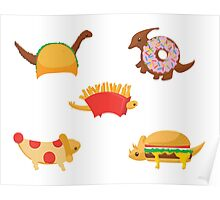 Snack-A-Saurus'! Poster