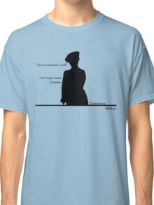Lie is so unmusical a word Classic T-Shirt
