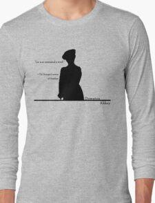 Lie is so unmusical a word Long Sleeve T-Shirt