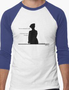 Lie is so unmusical a word Men's Baseball ¾ T-Shirt